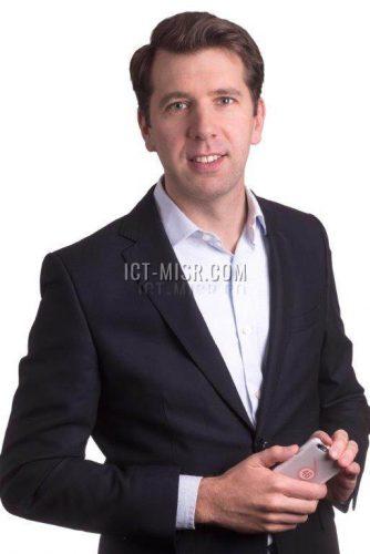 ألكسندر فرومان الرئيس التنفيذى لشركة فودافون مصر