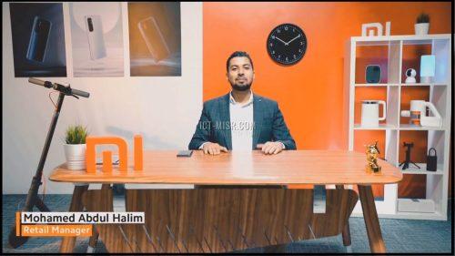 محمد عبد الحليم مدير مبيعات شاومى
