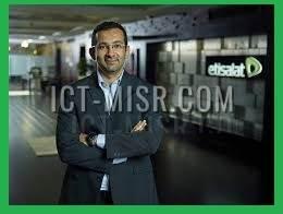 المهندس أحمد يحي الرئيس التنفيذي للقطاع التجاري بشركة اتصالات مصر