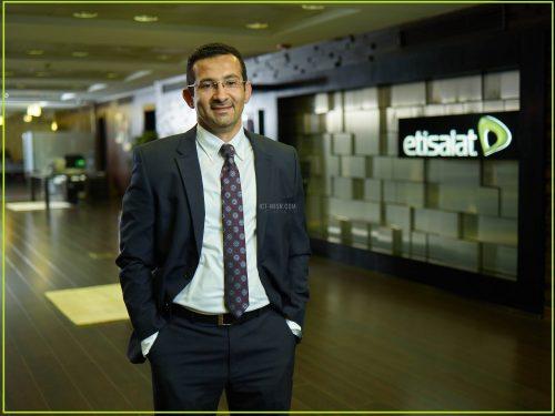 أحمد يحيى الرئيس التنفيذي للقطاع التجاري بشركة اتصالات مصر