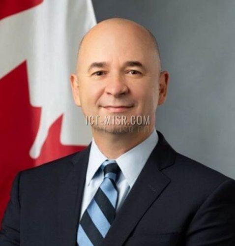 السفير لويس دماس سفير كندا فى القاهرة